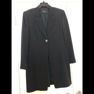 Dana Buchman Long Silk Suit Jacket
